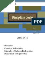 CODE OF DISCIPLINARY