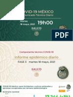 CP Salud CTD Coronavirus COVID-19, 18may21