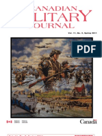 Canadian Military Journal - Vol. 11, No. 2