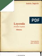 Leyenda- Albeniz
