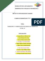 PROYECTO INTEGRADOR DE SABERES segundo