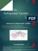 Exposicion refrigerante variable