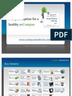 Campus Medicine software - Presentation