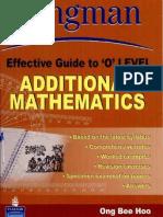 9812357955 LEG O Level Additional Maths