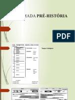 A CHAMADA PRÉ-HISTÓRIA
