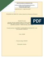 """FASE DE PROYECTO 1 """"IDENTIFICACIÓN"""" (1)"""