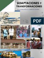 ADAPTACIONES Y TRANSFORMACIONES, recursos naturales