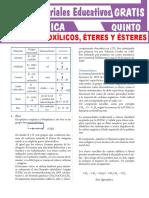 Ácidos-Carboxílicos-Éteres-y-Ésteres-Para-Quinto-Grado-de-Secundaria
