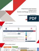 Importancia Del Catastro Urbano en La GRD - Ing. Richard Flores Cabello