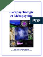 Parapsychologieetmetapsychie