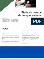Étude du marché de l'emploi national