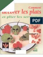 decorer_les_plats_et_plier_les_serviettes
