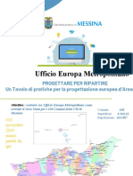 Messina Ufficio Europa Metropolitano