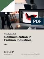 EFAP_Communication_Fashion_Industries