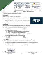 Evaluacion Diagnostica de SisOp 2DO BT