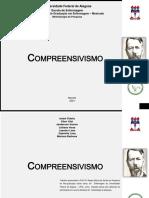Compreensivismo - Metodologia da pesquisa