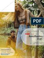Press Release Lojas Renner LREN3 1T21