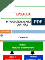 Module 1 - Introduction Contrôle Interne (1)