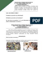 ESTUDO ORIENTADO 2021 - questionários