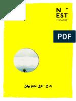 Programmation saison 2020-21 au NEST de Thionville