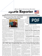 March 16, 2011 Sports Reporter