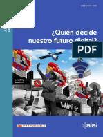 Quien decide sobre nuestro futuro digital