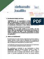 2. EL MATRIMONIO Y LA FAMILIA