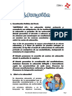 5. LA EDUCACION