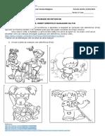 1º Ensino Religioso - Atividade de Estudo 06 PDF