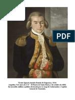 Vicente de Emparan Gobernador y Capitán General de Venezuela