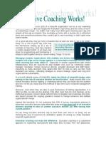 executive coaching works