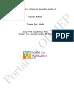 (OBMEP) Geo. Analítica I - Eq. Reta