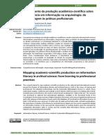 2021_FURTADO, R. L.; SANTOS, G. J. P. Mapeamento Da Produção Acadêmico-científica Sobre Competência Em Informação Na Arquivologia Da Aprendizagem Às Prátic