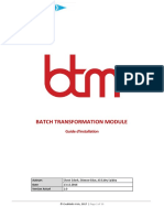 BTM - Guide d'Installation FR
