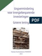 Broch_GroeneLening_2010 van de overheid met voorbeeldformulieren