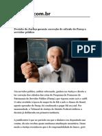 Decisão da Justiça garante correção de cálculo do Pasep a servidor público