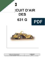 446 S - Circuit d'air des 631G