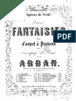 Arban Jean Baptiste Fantaisies Sur Les Operas Verdi Simon Boccanegra 62185