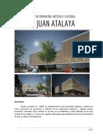 CENTRO CULTURAL Y DE FORMACIÓN  ARTÍSTICA Y CULTURAL def