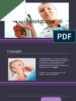 Oxigenoterapia expo