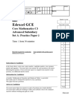 C3 Practice Paper A2