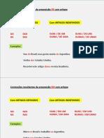 Português I_as Contrações