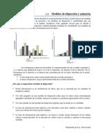 Medidas de dispersión y asimetría  2021