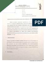 DEMANDA DE IMPUGNACION DE PATERNIDAD
