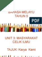 BAHASA MELAYU TAHUN 5.pptx Karya Kami