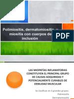 Polimiositis, dermatomiositis, y miositis con cuerpos