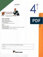Matematica  Cuaderno de Ejercicios 4 Basico