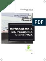 Esp Mídias na Educação - Metodologia da pesquisa científica - MIOLO