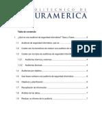 DOCUMENTO INSTITUCIONAL - AUDITORÍAS DE SEGURIDAD EN SISTEMAS III