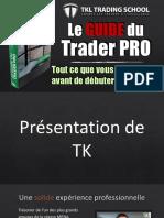 EBOOK Le Guide du Trader PRO